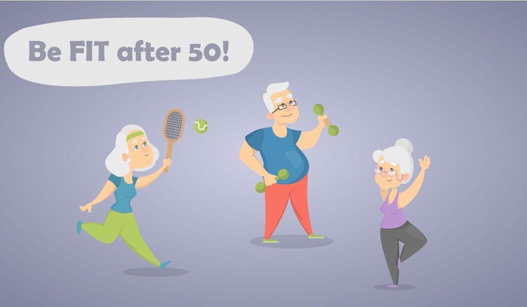 Ako byť fit po50 aako predísť bolestiam kĺbov: Rady askúsenosti