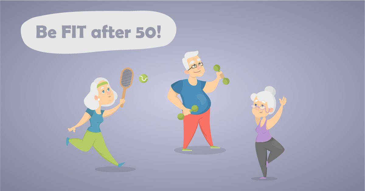 Ako byť fit po 50 │ For a Healthy Life