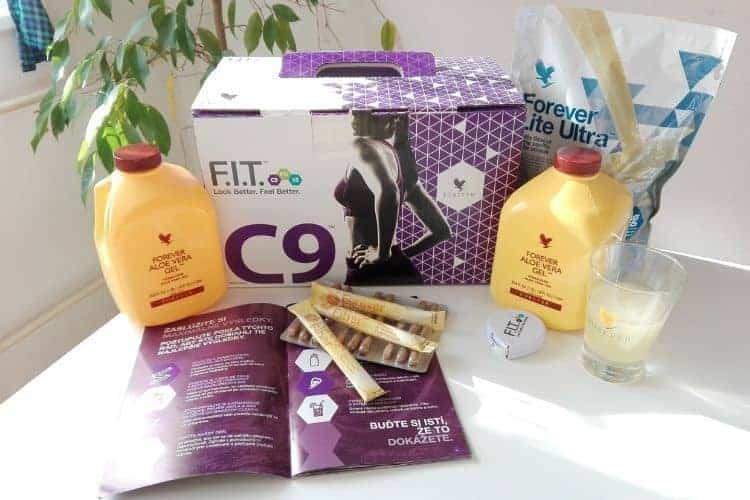 Forever deväťdňová detoxikačná kúra C9 │ For a Healthy Life