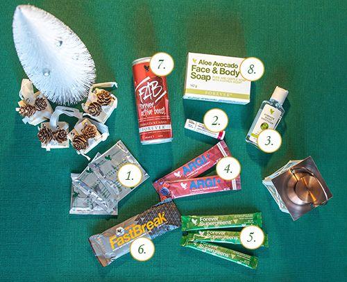 Darčeky k vianočným balíčkom │ For a Healthy Life
