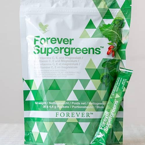 Forever Supergreens │ For a Healthy Life